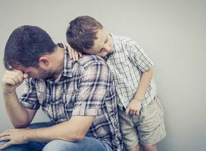 Consistent Parenting Time Healthier for Divorced Dads