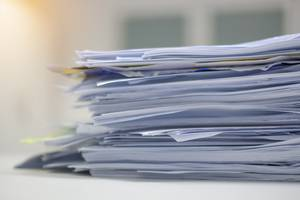 Organization Needed to Combat Mounds of Divorce Paperwork